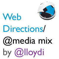 Cover art for 'Web Directions/@media 2011 Reception Mix'